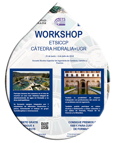 Workshop ETSICCP – Cátedra Hidralia+UGR